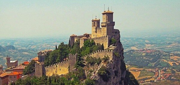 kleinstes Land der Welt, Vatikan und San Marino