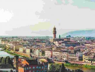 Bus nach Florenz, Italien