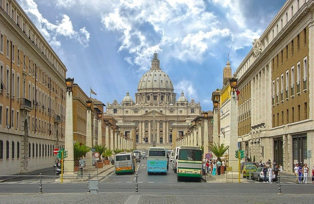 Fernbus München Rom