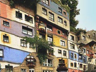 Das Hundertwasserhaus in Wien