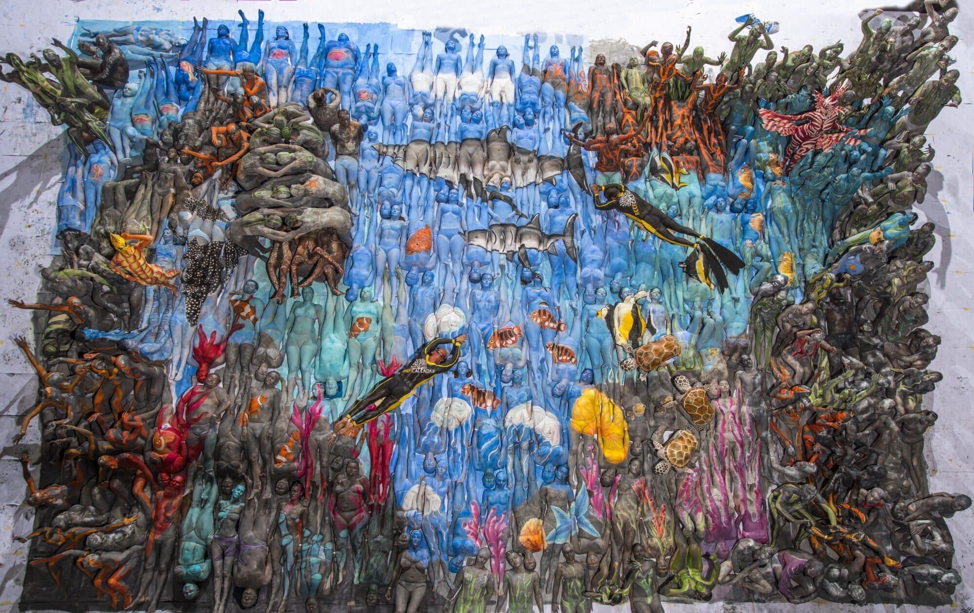 Finales Weltrekordbild für den Reefcalendar 2018