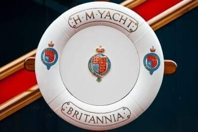 Rettungsring auf der Royal Yacht Britannia © Marc Millar