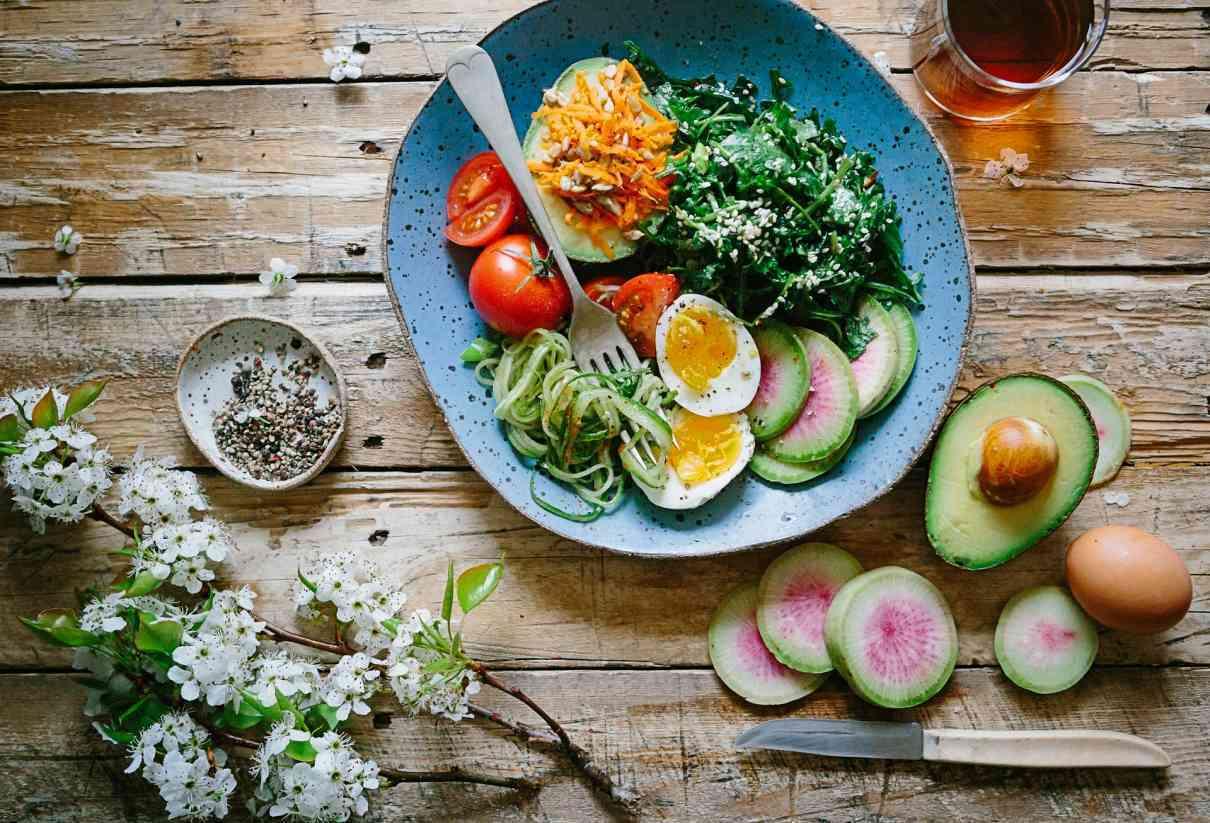 Low carb Ernährung, backen ohne Mehl, glutenfrei leben