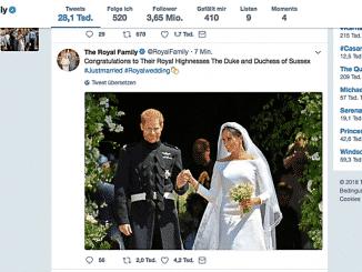 Mit der Hochzeit von Prinz Harry und Meghan Markte geht die königliche Familie einen weiteren Schritt in Richtung Modernisierung: