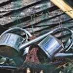 Sinnvolle Gartengeräte, Haws Giesskanne, Bosch Rasenmäher mit Akku,