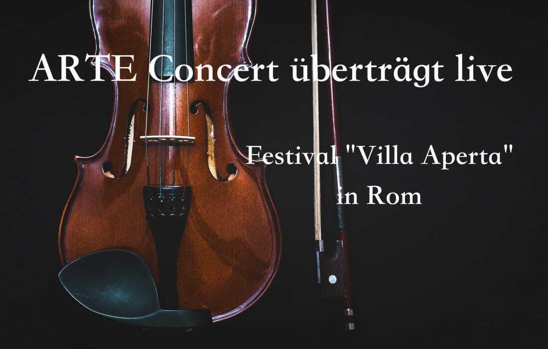 Arte Live Uebertragung, klassisches Konzert,