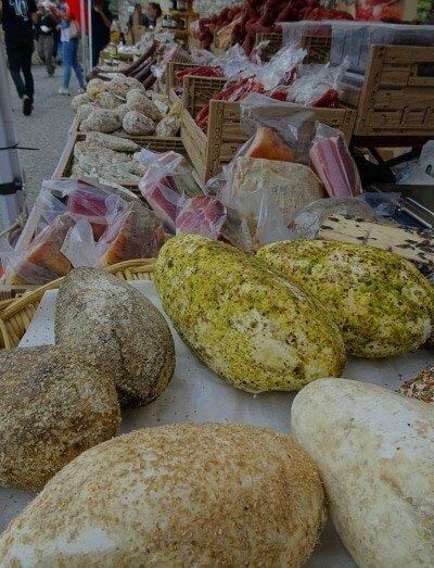 Kaese aus Italien, regionale Produkte aus Italien, Fior di Cacio Veranstaltung in Umbrien,