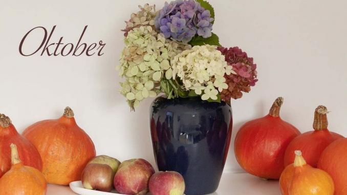 Gartenarbeit im Oktober, Herbst, Dekorationen, Obstkisten kaufen,