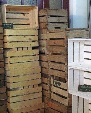 Obstkisten kaufen, Weinkisten woher, alte Holzkisten,