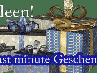 Last minute Weihnachtsgeschenke, Geschenkideen, individuelle Geschenke