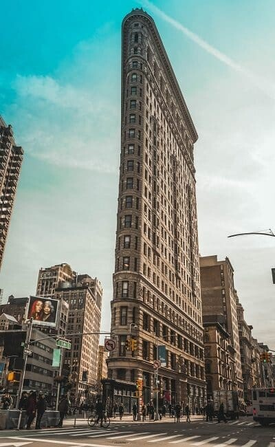 am Broadway, Flatiron Building
