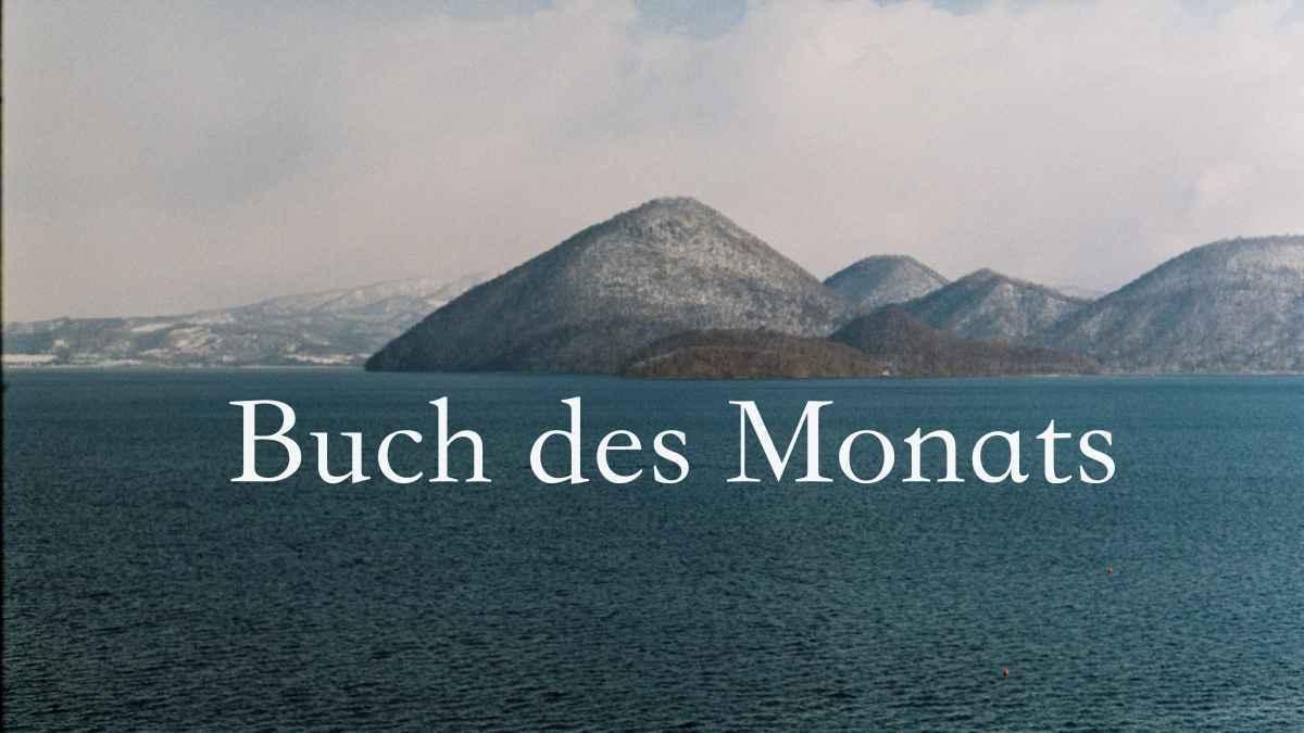 Buch des Monats, Lifestyle Magazin, Online Magazine Deutschland