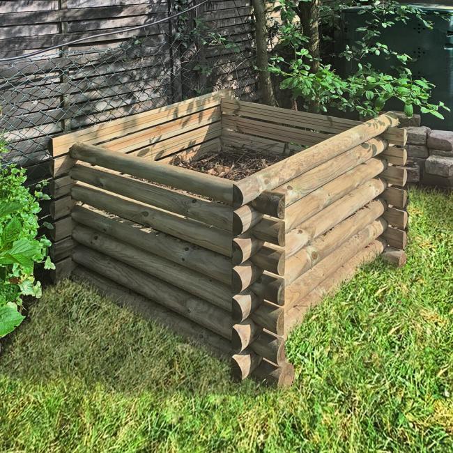 natürlicher Dünger, Kompost, Holzkomposter kaufen