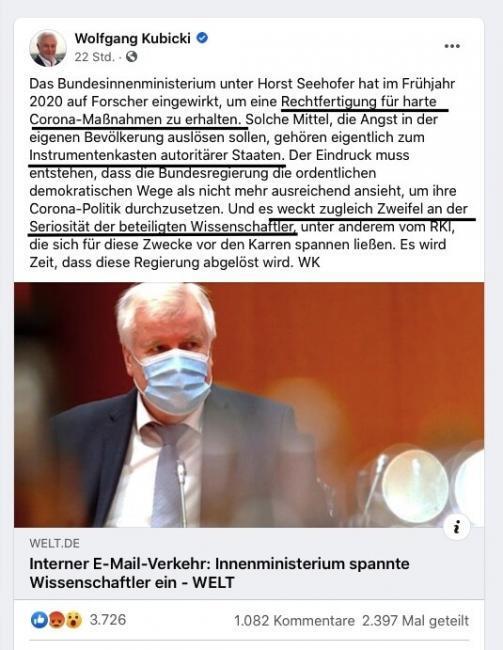 Weg der Impfungen, repressive Massnahmen, Wolfgang Kubicki, Lifestyle Magazin Deutschland