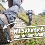 sicher am Berg, markierte Wanderwege, lifestyle magazin, stilvoll