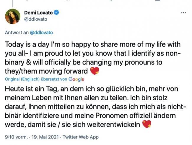 Tagesgedanken, Demi Lovato, Lifestyle Magazin