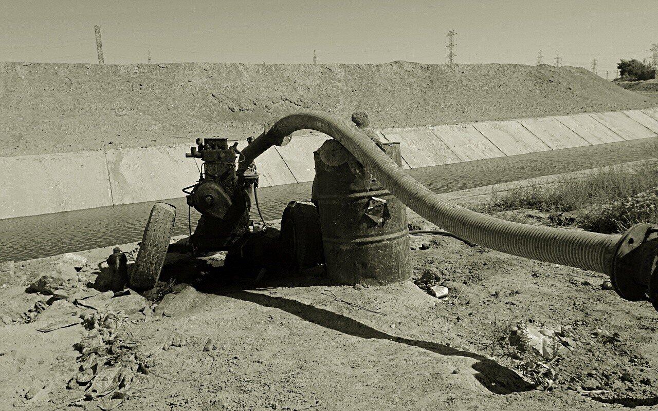 Das ägyptische Bewässerungssystem: So überlebt die Landwirtschaft