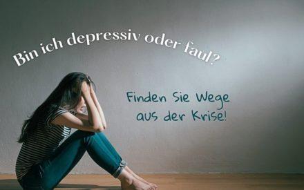 bin ich depressiv oder faul, lifestyle magazin, l4u