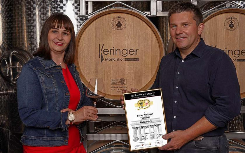 Weingut Keringer, Weinprämierung, Salon Österreich Wein,